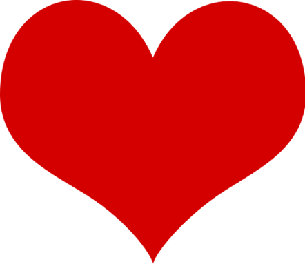 Image result for clip art heart